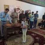 برگزاری مراسم اهدای مدارک زبان آموزان شعبه تشان