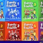 نمونه سوالات کتب Family and Friends