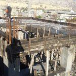 ادامه روند ساخت مجتمع اموزشی ایران زمین در شهرخاص