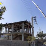 گزارش تصویری ادامه عملیات ساخت مجتمع آموزشی زبانسرای ایران زمین شعبه شهرخاص